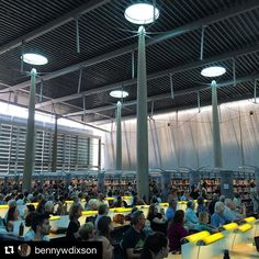 In honor of Summer Solstice we want to #Repost this great shot from @bennywdixson at the Burton Barr Central Library from yesterday. One of Phoenix's most celebrated pieces of contemporary architecture the Central Library's reading room is a space of celestial magic at solar noon on the Summer Solstice. The library was designed by local architect Will Bruder with an amazing staff that--at the time-- included Professor of Practice Wendell Burnette FAIA. Wendell gives our students amazing…
