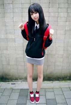 korean school girl