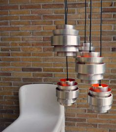 amazing space age pendant lights . . .