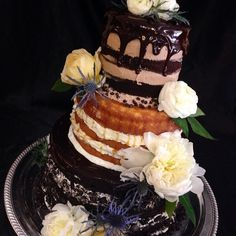 #blisscupcakery #bliss #cake #cakes #wedding #weddingbliss #nakedweddingcake #yulee #florida #fernandina #food  #love #yummy