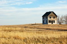Panoramio - Photo of Little Old House On The Prairie