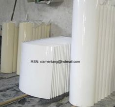 StoneColumn,MarmoglassColumn-welcome to china marmoglass, nanoglass, nano crystallized glass panel crystallized glass panel,crystallized white stone,white marble,minicrystal stone. Stone Columns, White Stone, Pure White, Glass Panels, White Marble, China, Pure Products, Crystals, Home