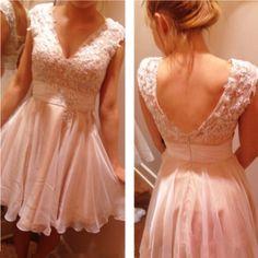lovely light pink short prom dress, #pinkpromdress, #homecomingdresses, #promdresses2017, #teendresses