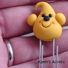 PARKER Polymer Clay Paper Clip BOOKMARK by KatersAcres on Etsy, $5.65