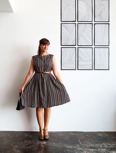 Dress sewing (& simple drafting) tutorial