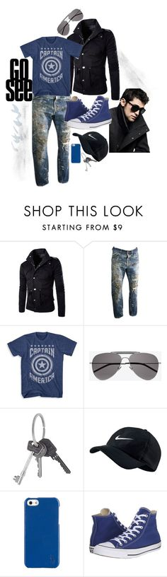 """""""Go On, Go See"""" by paperdollsq ❤ liked on Polyvore featuring DKNY, Yves Saint Laurent, Givenchy, NIKE, Polo Ralph Lauren, Converse, men's fashion and menswear"""