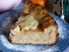 Szarlotka z marcepanem/ marizpan apple pie #mniam #pyszne #słodkość #applepie #szarlotka #marcepan Apple Pie, French Toast, Breakfast, Food, Morning Coffee, Essen, Meals, Yemek, Apple Pie Cake