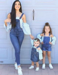 57 Ideas For Baby Fashion Clothes Mother Daughters Mom Daughter Matching Outfits, Mommy And Me Outfits, Matching Family Outfits, Girl Outfits, Summer Outfits, Outfits Madre E Hija, Mother Daughter Fashion, Mother Daughters, Mother And Daughter Clothes