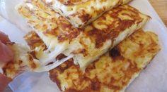 Pfannkuchen mit Ei und Käse – Yumurtalı Peynirli Gözleme