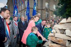 Prince Guillaume and Princess Stephanie visit Esch