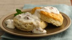 Unbeatable Sausage Gravy and Biscuits - after reading ingredients in gravy at the grocery store, I am thinking I should make my own!