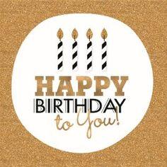 Verjaardagskaart vrouw - razzle-dazzle-kaart-happy-birthday-to-you-kaarsjes