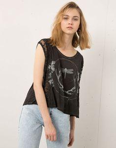 Graphic Print - T- Shirts - Bershka - Woman - Bershka United Kingdom