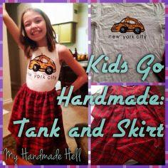 My Handmade Hell: Kids Go Handmade: Tank and Skirt