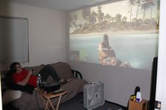 Projector gaming, the way to go | Flickr - Photo Sharing!