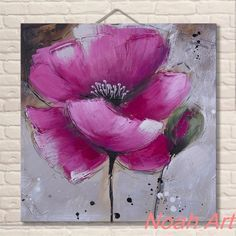 Pintura Al Oleo Abstractos Newart Lotus Oil Paintings Canvas Painting Pop Art Living Room Wall Restaurant Background Acrylic Painting Flowers, Easy Canvas Painting, Abstract Flowers, Watercolor Flowers, Watercolor Paintings, Canvas Art, Oil Paintings, Oil Painting Pictures, Arte Pop