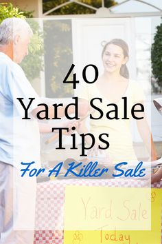 40 yard sale tips to make the most out of your sale this year. Yard sales and garage sales are a GREAT way to make extra cash while decluttering your home. From Pam @ House of Hawthornes Garage Sale Pricing, Garage Sale Tips, Garage Sale Organization, Organizing, Rummage Sale, Making Extra Cash, Ppr, Tips & Tricks, Making Ideas