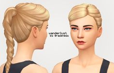 Lana CC Finds - grazeness:   WANDERLUST; a new hair for your...