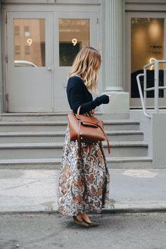9cb84242df0d Celine Bag at NYFW 2016 Nyfw 2016