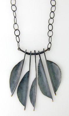 NK-107: Feather necklace | Sydney Lynch