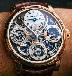 MB&F Legacy Machine Perpetual Calendar Watch Hands-On | aBlogtoWatch