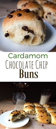 These Cardamom and Chocolate Chip Buns are absolutely delicious. You may be thinking they are too complex to bake at home, but they are not. You won't need any machine and they don't required too much kneading. It is really worthy and gratifying to make these chocolate chip buns at home and your home will smell like heaven after baking these buns! This was the first... #buns #cardamom #chocolate