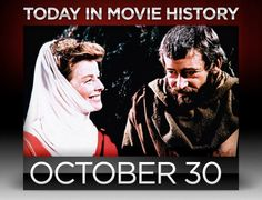 "1968 – Anthony Harvey's best picture nominated ""The Lion in Winter"" opened wide on this day. Peter O'Toole earned a best actor nomination for his portrayal of King Henry II of England, who must outwit his conniving sons and wife, Eleanor of Aquitaine, played by Katherine Hepburn in an Oscar winning performance, her third Academy Award in a leading role, the first actor to ever accomplish such a feat."