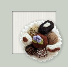 DK Knitted Chocolates PDF Instrant Downloadable House | Etsy
