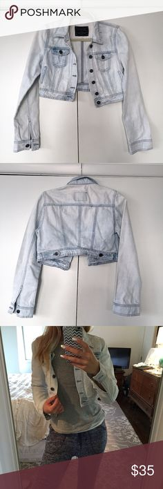 ZARA Denim Rules by TRF distressed jacket 💕 Like Brand New. Says size M but it better fits S. Measures approximately 15.5 inches top of shoulder to the bottom. Zara Jackets & Coats Jean Jackets