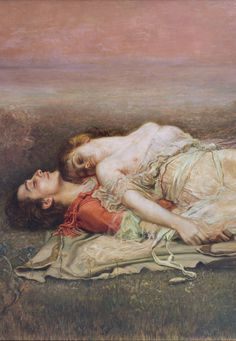 Rogelio de Egusquiza: Tristan and Isolde, detail, 1910. The legend of Tristan and Isolde is the tragic tale of two lovers fated to share a forbidden but undying love. Scholars of mythology believe that the legend originated in Brittany, in western France. In time it was associated with the Arthurian legends and became part of the mythology of medieval Europe, told and retold in various versions and in many languages.