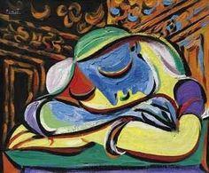 Pablo Picasso, Jeune fille endormie, 1935