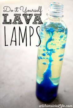 Such simple items can be transformed into a cool activity that blends both science and art. If you have an empty water bottle, water, vegetable oil and food coloring, you can make this fascinating kid's activity! As a bonus, it also teaches kids about liquid density (and an explanation about that is included in this post!).