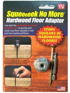 Ive Been Searching For This In The Stores And Asked At Local - How to fix squeaky hardwood floors