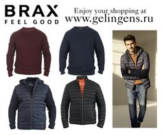 """brax"" by ggelingen on Polyvore featuring BRAX, men's fashion и menswear"