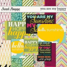 Digital Freebie used in my CCG232 Layout: Traci Reed - You Are My Happy (available until Feb 28)