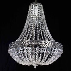Interior:Attractive Hanging Chandelier Ideas Classic And Elegant Chandelier Design Idea With Crystal Material To Show Latest Lighting Design
