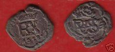 resello de IIII maravedis de 1658