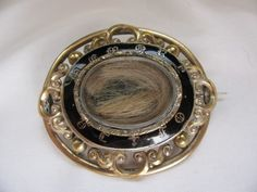 ~ Victorian Mourning Brooch ~