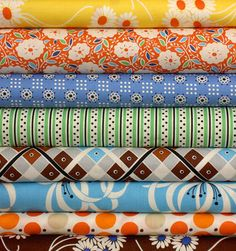 Fabric - assorted patterns.