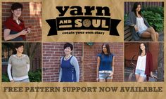 It's here! Our new website is up and running. Check it out for great yarns and FREE patterns. http://www.yarnandsoul.com #createyourownstory #yarnandsoul #superfine400