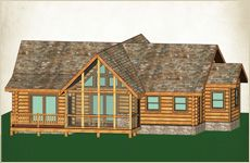 Naturecraft Wholesale Log Homes - Log Cabin Packages - Custom Floor Plans & Natural Design - Construction Services - All at Affordable Wholesale Prices