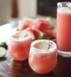 watermelon margarita | www.prettyplainjanes.com