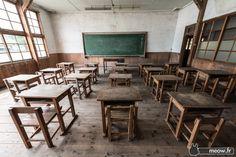 Abandoned Classroom in Ibaraki Jordy Meow