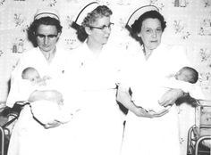 Three Registered Nurses at the Comanche County Hospital, Coldwater, Kansas
