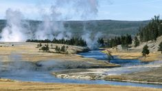 Geysers Yellowstone National Park Wyoming US - HD Travel photos ...