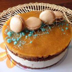 Tejfölös mézes Ricotta, Tiramisu, Fondant, Ethnic Recipes, Food, Essen, Meals, Tiramisu Cake, Gum Paste