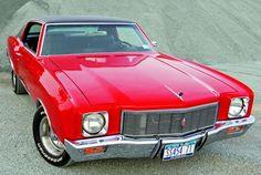 Dads cars:1971 Monte Carlo (pre blue metal flake paint job)