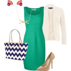 The Young Professional by jillllllllllian on Polyvore - with Kate Spade accessories and Steve Madden pumps