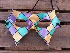 Mardi Gras Mask  Ready To Ship by BoondockStudios on Etsy, $45.00