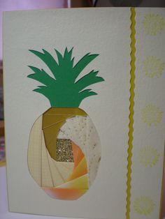 Pineapple iris folding